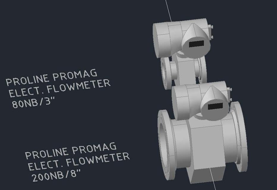Flowmeters | 3D CAD Model Library | GrabCAD