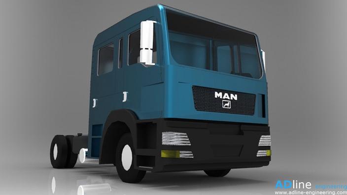 MAN TGL 8.xxx 4x2 chassis