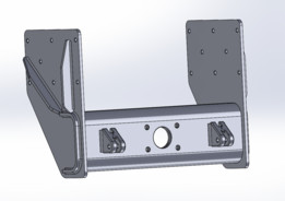 Ring feeder mount below chassis