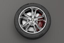 Wheel Lamborghini Aventador