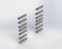 Different Types of Tension (Extension) Springs