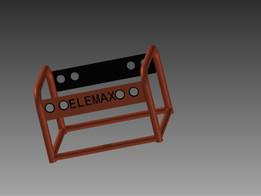 Generator frame