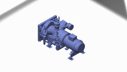3 stage air-cooled compressor