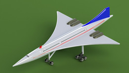 CONCORDE (supersonic passenger-carring aircraft)