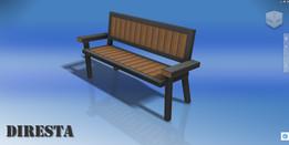 Diresta Bench