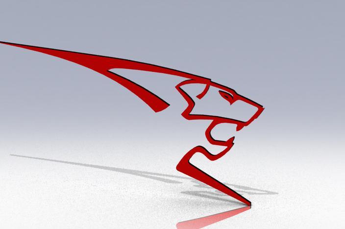 logo peugeot sport solidworks 3d cad model grabcad. Black Bedroom Furniture Sets. Home Design Ideas