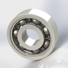 Ball bearing, based on the model 608 from SKF