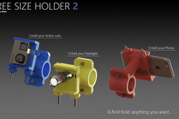 Free size holder 2 (Bike Accessory Challenge)