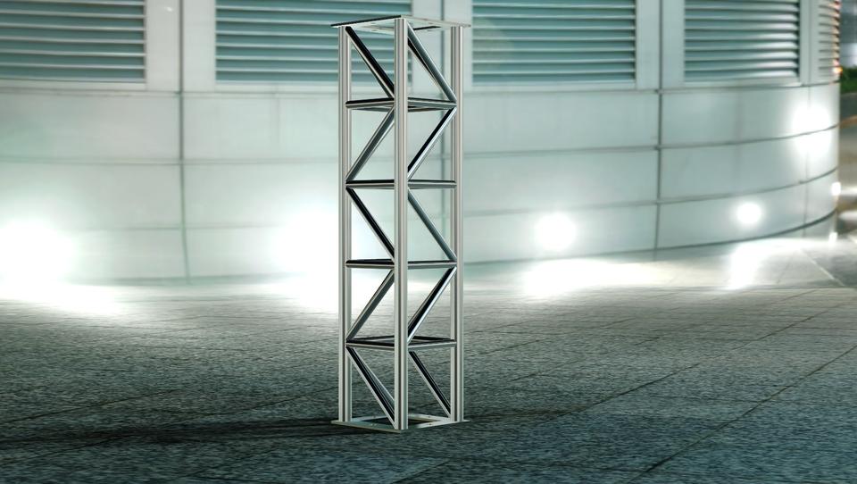 aluminum truss | 3D CAD Model Library | GrabCAD
