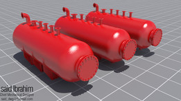 Cylindrical Gas Pressure Vessels