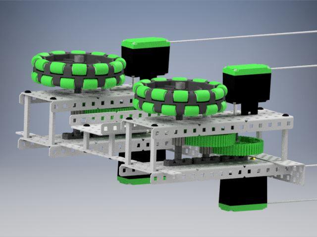2015 Vex Robot 3767A - Autodesk Inventor - 3D CAD model - GrabCAD
