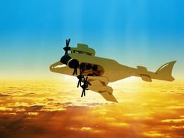 Aircraft (special libyan Gazel Aircraft)