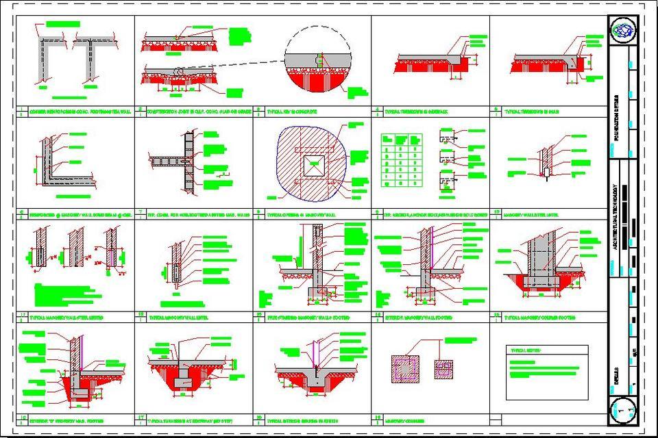 Foundation Details | 3D CAD Model Library | GrabCAD