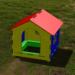 Children playhouse - sandbox