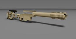 Folding Rifle Stock