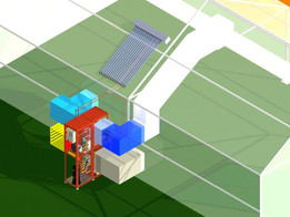 """ Format-one "" Solar desiccant dehumidifier  for  Greenhouses"