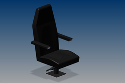 Swivel Seat with Armrests