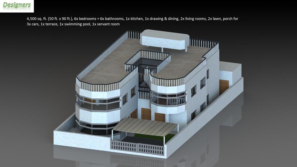 4500 sq ft house design 3d cad model grabcad for 4500 sq ft home
