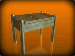 Wooden the seat