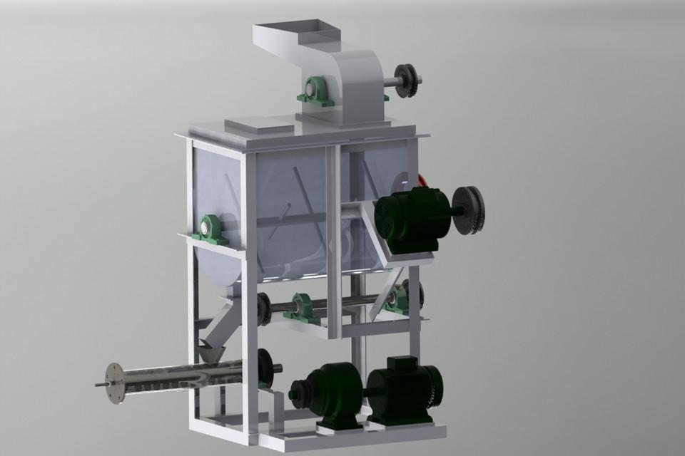 PET FOOD EXTRUDER | 3D CAD Model Library | GrabCAD