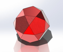 Dodecahedron chamfered
