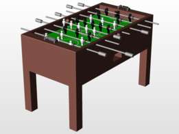 Basic Foosball Table