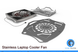 Stainless Laptop Cooler Fan