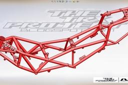 Yamaha TRX 850 Trellis frame