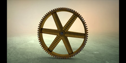 Spur Gear with Rim