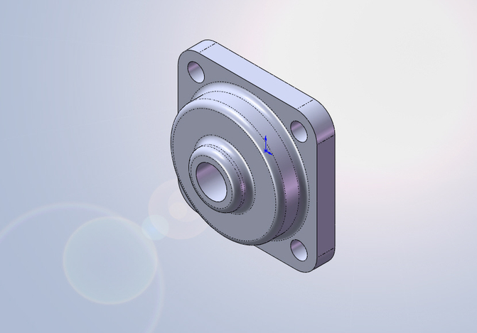"3/4"" BORE 4-BOLT FLANGE BEARING"