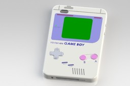 iPod 4G GameBoy Color Case