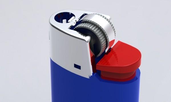Accurate Mini Bic Lighter