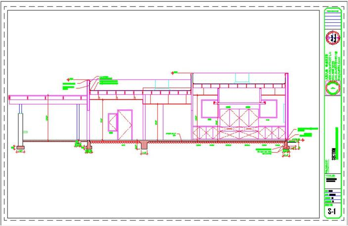 Autocad Front Elevation Drawings : Conference center elevation drawing autocad d cad