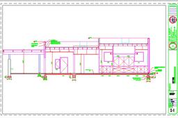 Conference Center Elevation Drawing