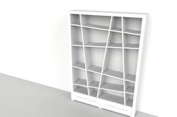 Bookshelf angle