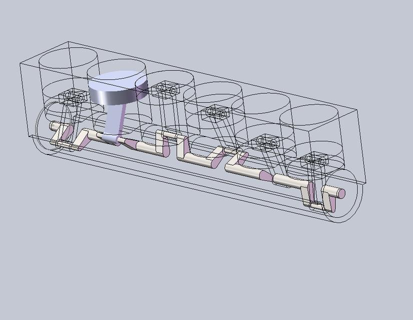 Inline 6 cylinder engine SOLIDWORKS 3D CAD model GrabCAD – Inline 6 Engine Diagram