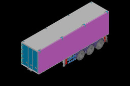 3 Axles 10.6 m Mobile Stage