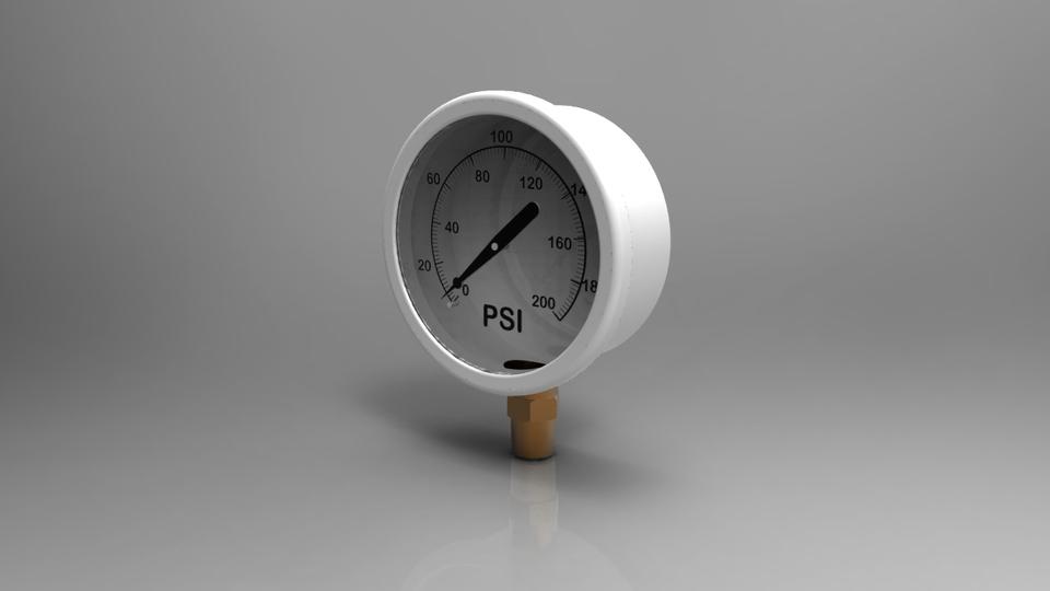Pressure gauge 3d cad model library grabcad load in 3d viewer uploaded by milovan rankovic altavistaventures Image collections