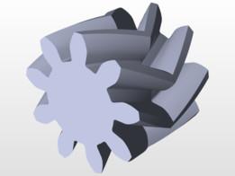 Herringbone Gear Template