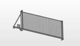 ENWAR - sliding gate