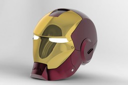 Bleeding Edge Iron Man Helmet