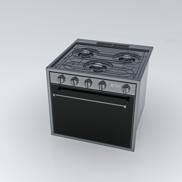 Rv Stove Oven >> Atwood Rv Stove Oven 3d Cad Model Library Grabcad
