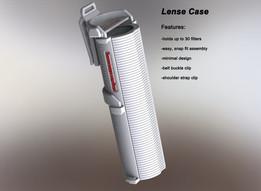 Konstruktor camera: lense case design