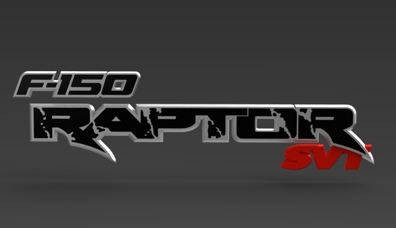 Request Ford F150 Raptor Nameplate
