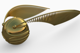 Harry Potter's golden snitch