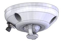ceiling housing for PIR sensor HC-SR501