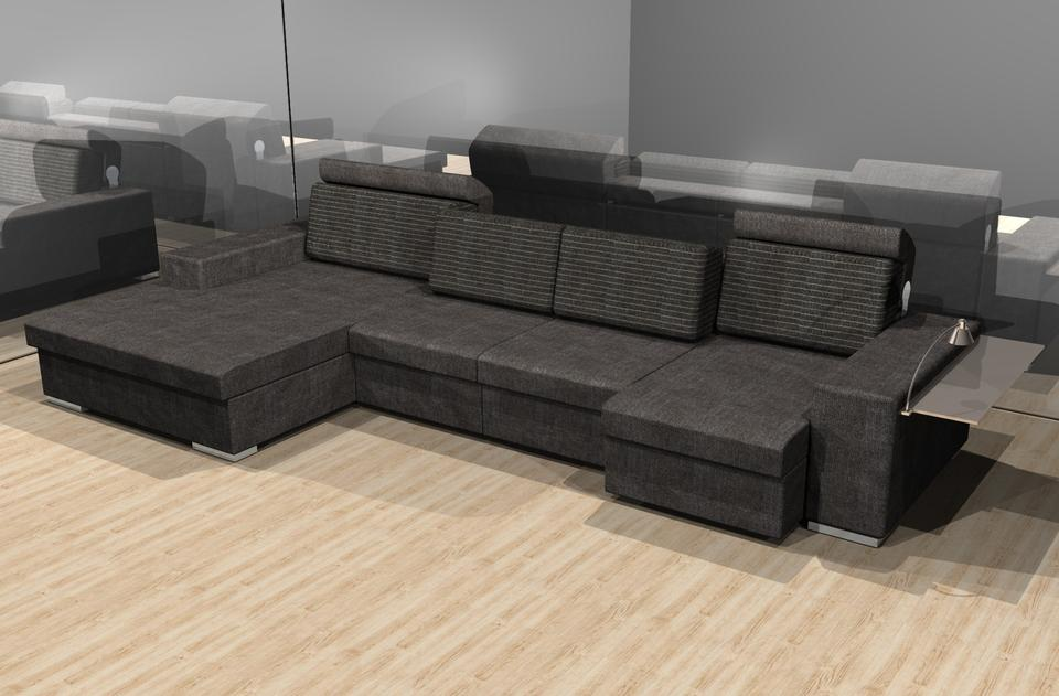 atlante sofa by doimo salotti autodesk 3ds max stl 3d. Black Bedroom Furniture Sets. Home Design Ideas