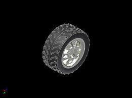 Tyre and Sport rim
