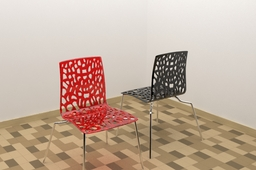 Black and Red Trans Chair