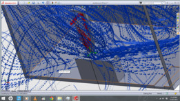 FLOW SIMULATION OF WJM